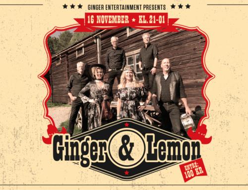 Lördag 16 november + Ginger & Lemon