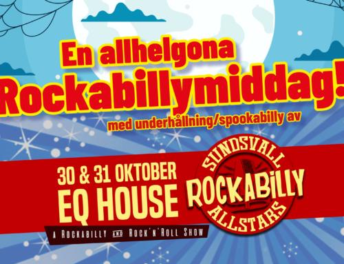 Lördag 31 oktober + Sundsvall Rockabilly Allstars