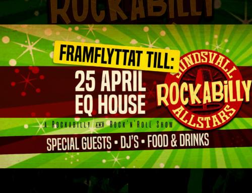 Lördag 25 april + Rockabilly Allstars